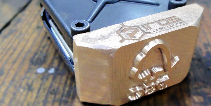 sello FSC para marcar madera a fuego